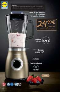 Blender Silvercrest - 5 vitesses - 550 W