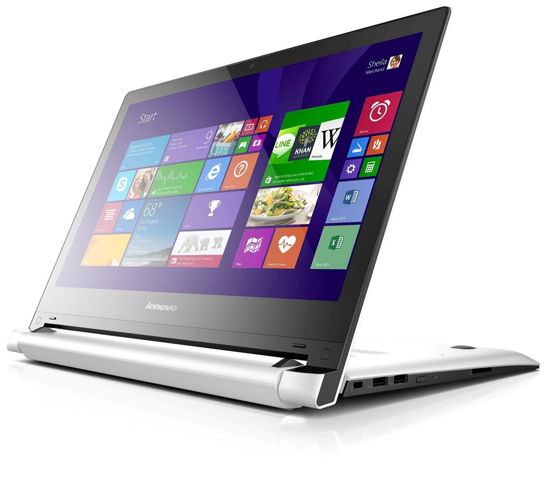 "PC portable tactile 14"" Lenovo Flex 2 14 Blanc"