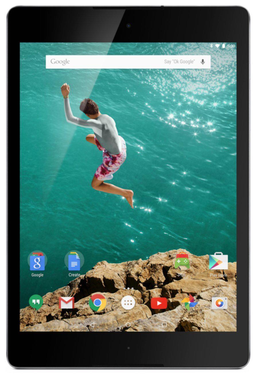 Tablette 8,9'' HTC Nexus 9 16 Go Android Lollipop Blanc + Google Chromecast