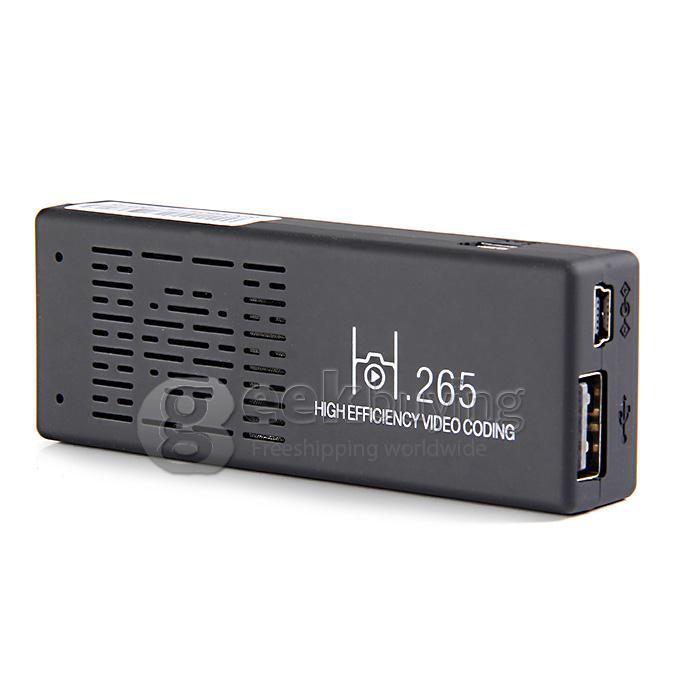 Dongle TV HDMI Android 4.4 - Quad Core - Wifi - Bluetooth - DLNA - Miracast - 1Go de RAM - 8Go - 2 ports USB