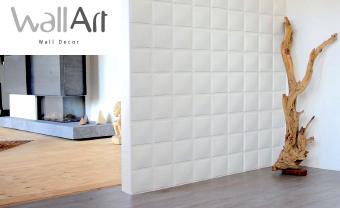 Revêtement mural Wall Art - 12 panneaux muraux 3D motifs géometriques (plusieurs modèles)