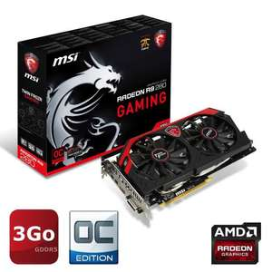 Carte Graphique MSI AMD Radeon R9 280 GAMING 3Go + 3 jeux offerts