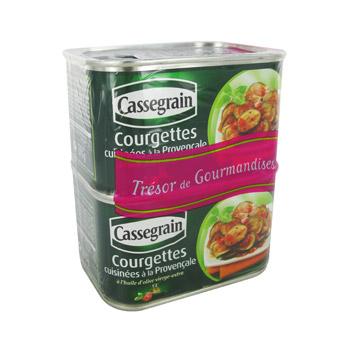 Jusqu'à 40% de réduction sur 2 boîtes de Champignons cuisinés Cassegrain au choix (via Cwallet + BDR de 1.40€)