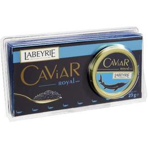 Boite de caviar Labeyrie 25g (50% sur la carte)