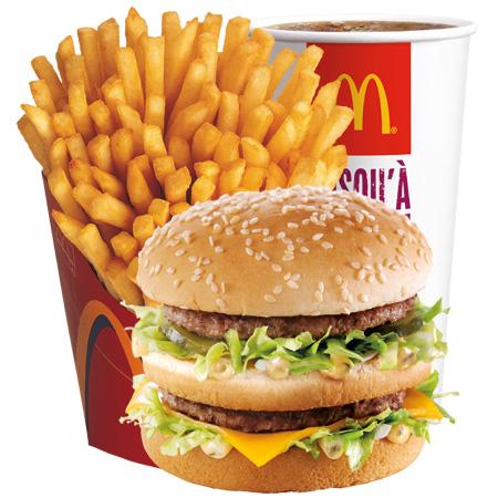 1 menu Maxi Best OF acheté = 1 offert