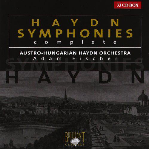 Symphonies complètes de Joseph Haydn par Adam Fischer (33 CD)
