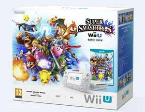 Console Wii U Pack Basic Super Smash Bros
