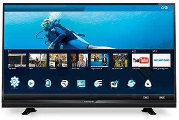 """Téléviseur 42"""" Grundig 42VLE 840 BH - Full HD 400 Hz - Smart TV 3D"""