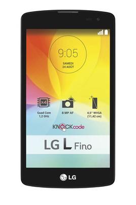 "Smartphone 4.5"" LG L Fino Titane (ODR 30€)"