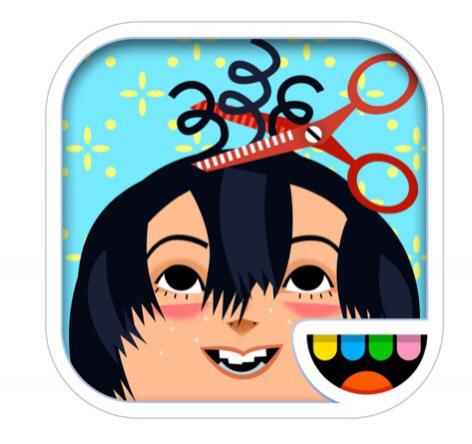 Jeu Toca Hair Salon 2 gratuit sur iOS (au lieu de 2,69 €)