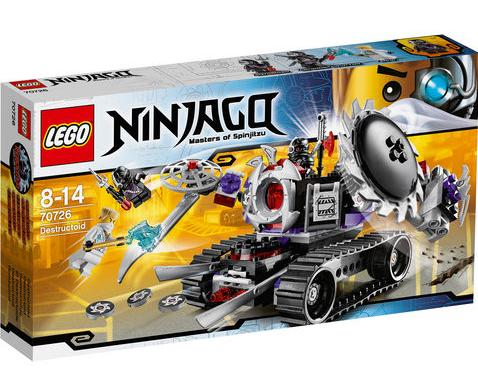 Lego Ninjago Destructoïde (Avec 11.23€ sur la carte Waaoh)