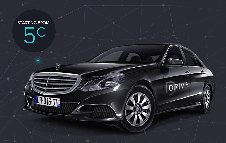 30€ de crédit pour votre prochaine course (chauffeur privé)