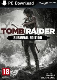 Tomb Raider Survival Edition sur PC (Steam)