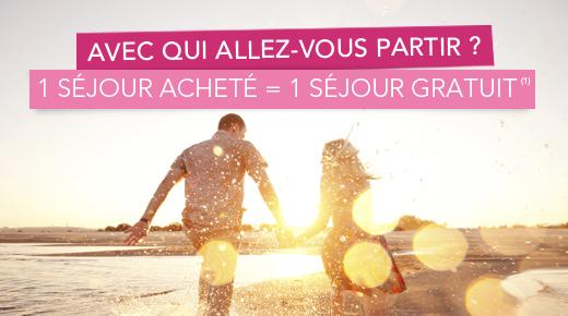 1 séjour acheté = 1 séjour gratuit - Ex: 7 Nuits Club Eldorador Palmeraie 4* à Marrakech