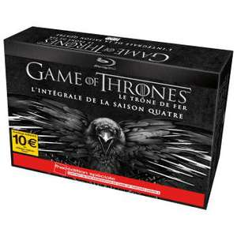 [Adhérents] Précommande Game Of Thrones saison 4 en Blu-ray + 10 euros en carte cadeau
