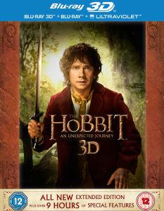 Coffret Blu-ray - Le Hobbit : Un voyage inattendu Version longue  (Blu-ray 3D + Blu-ray + Copie digitale)