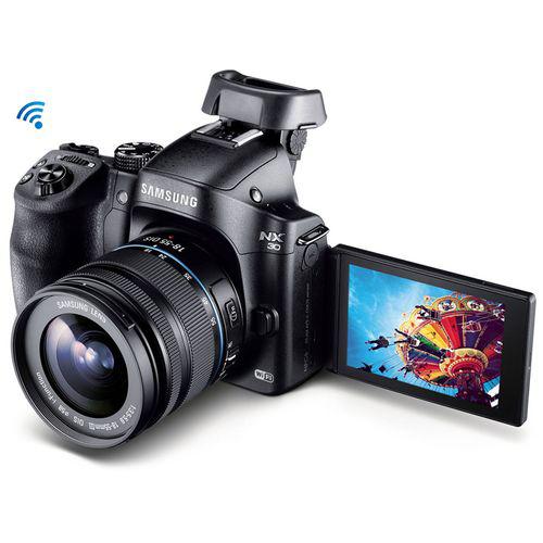 Appareil photo hybride Samsung NX-30 + 18-55mm f3.5-5.6
