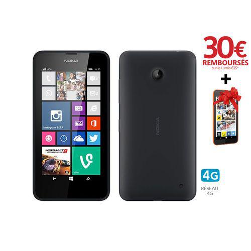 Nokia lumia 635 (30€ ODR Bouygues Télécom + 30€ Carte Lumia Gold + Nokia Lumia 530 offert)