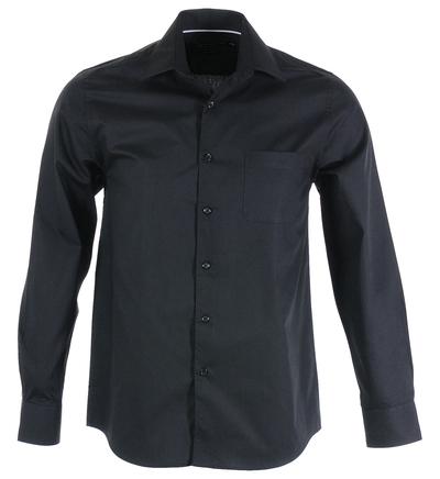Chemise droite et col italien- Lafayette Collection