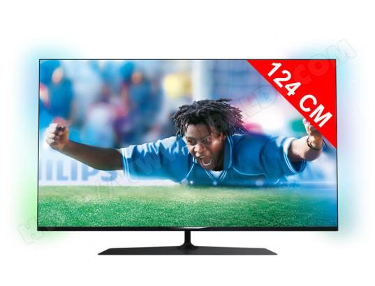 TV 4K 3D Philips 49PUS7809  (avec ODR 100€)