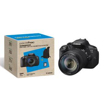 [Adhérents] Appareil photo Reflex Canon EOS 700D + Obj. Canon EF-S IS STM 18 - 135 mm f/3.5 - 5.6 + Sac + SDHC 16Go (+ 80 € en chèques cadeaux)