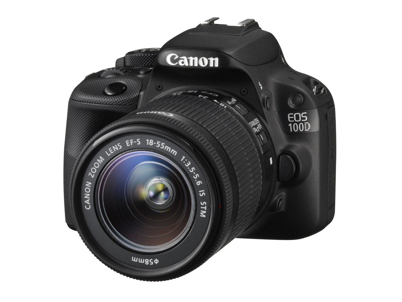 Reflex Canon EOS 100D + objectif EF-S 18-55 IS STM