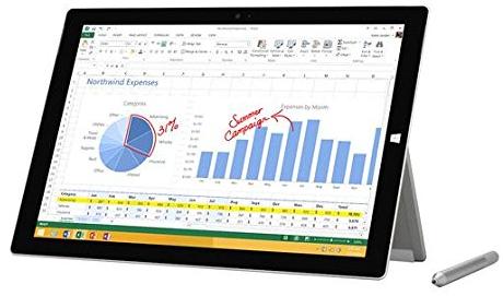 "Tablette 12"" Microsoft Surface Pro 3 - i5 - 128Go"