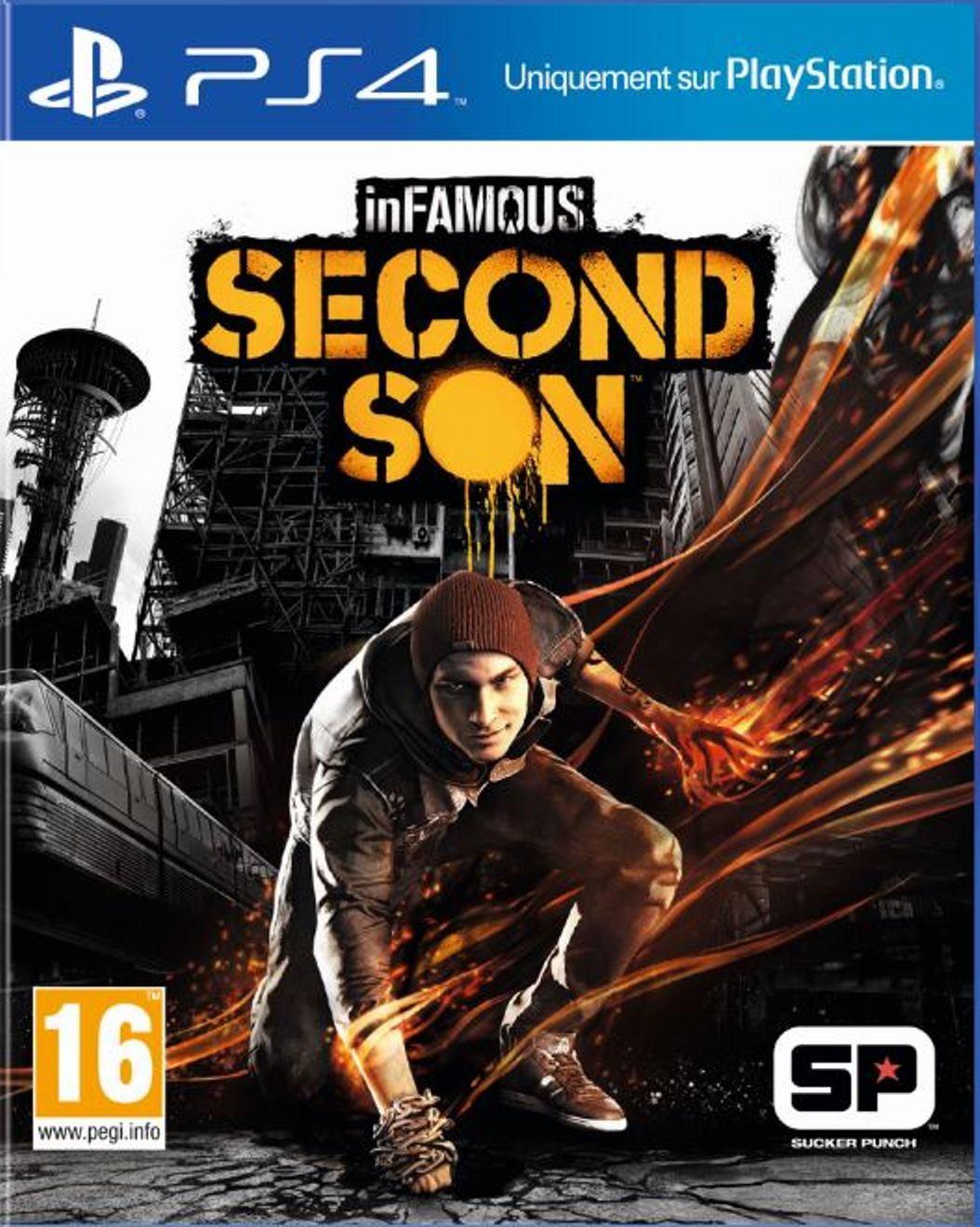 10€ de réduction sur une sélection de DVD, Blu-ray, Jeux vidéo - Ex : InFamous Second Son sur PS4