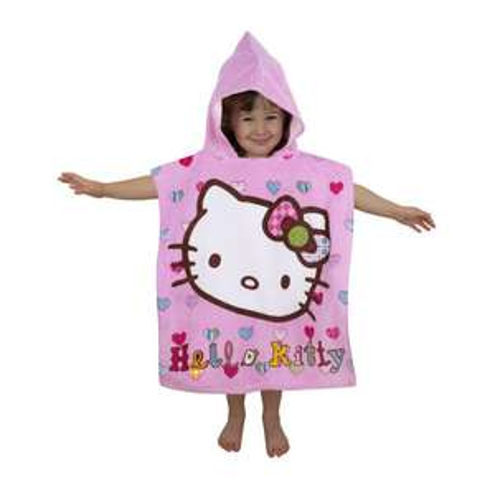 Poncho  de bain Cars / Hello Kitty / Calimero