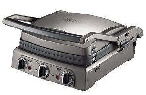 Grill électrique Cuisinart P0739E Griddler Pro GR50E + Set Poivre/Sel Electrique (ODR 50€)
