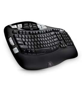 Logitech Wireless Keyboard K350 - Emballage endommagé