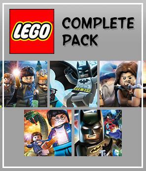 Bundle de jeux PC Lego (dématérialisés - Steam)