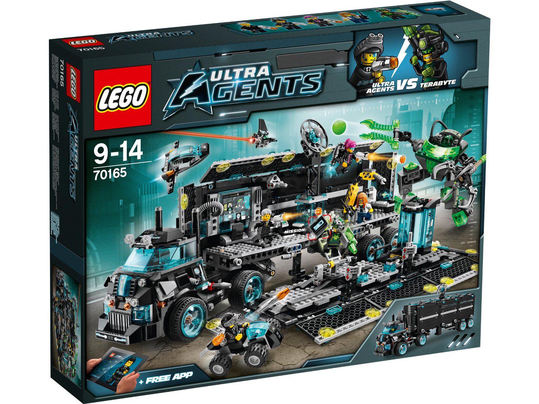 Jeu de construction Lego 70165 - Le QG des Agents