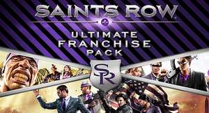 Saints Row Ultimate Franchise Pack sur PC (dématérialisé - Steam)