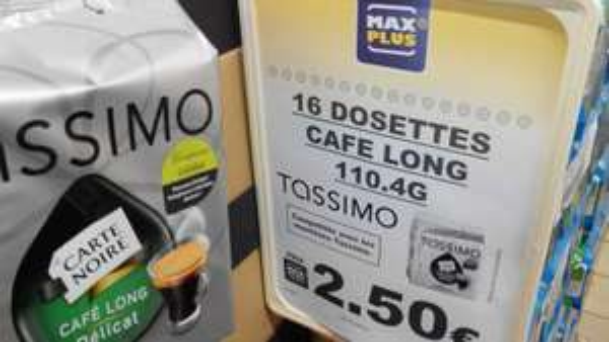 Paquet de 16 dosettes Tassimo Carte Noire Café Délicat