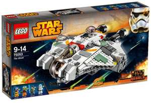 Lego Star Wars 75053 Le Ghost (49,95€ sur la carte Waaoh)