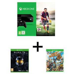 Pack Xbox One Fifa 15 + Halo The Master Chief Collection + Sunset Overdrive