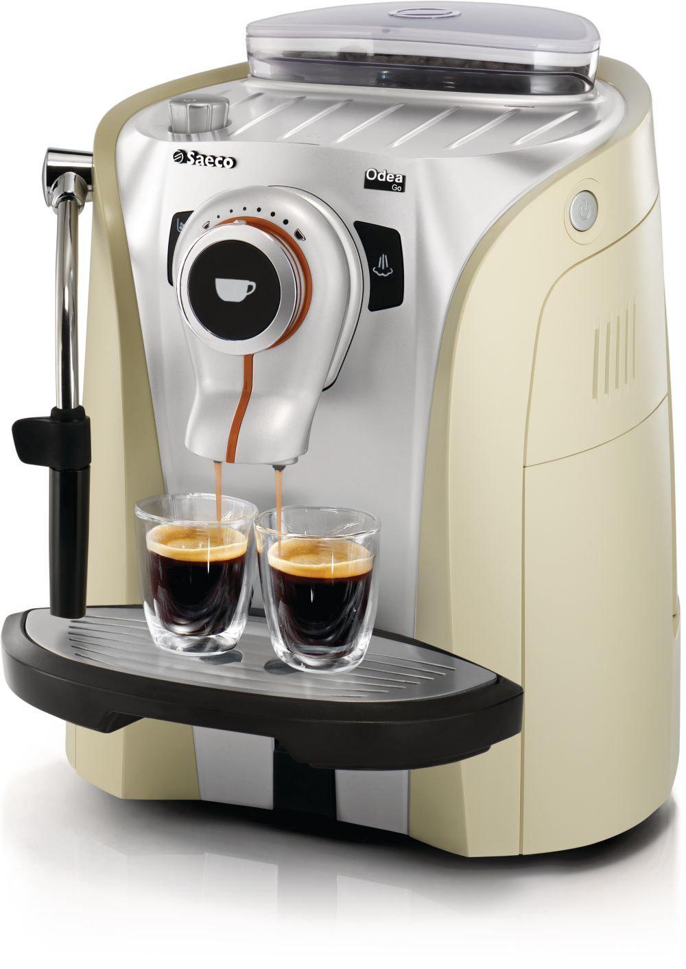 Machine à Espresso Odea Vanilla Automatique avec broyeur de grains  (couleur Vanille)
