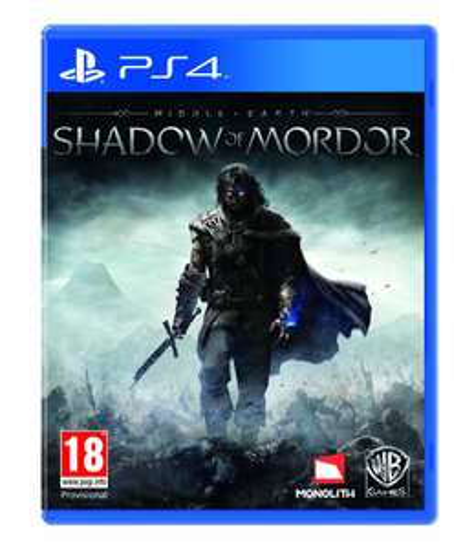 Jeu La Terre du Milieu - l'ombre du Mordor sur PS4