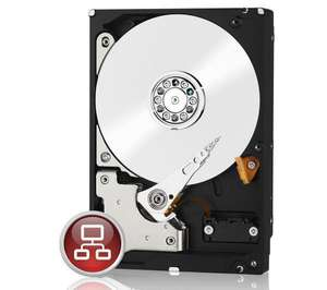 """Disque dur interne 3.5"""" WD Caviar Red WD30EFRX 3 To"""