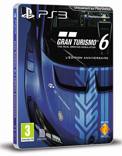 Gran Turismo 6 Edition Anniversaire sur PS3