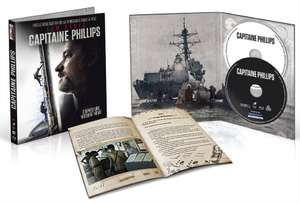 Combo Blu-ray + DVD + Livret Capitaine Phillips - Edition digibook limitée Amazon