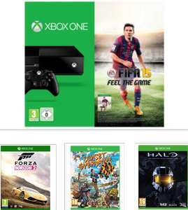 Pack Xbox One : Fifa 15 + Forza 2 +  Halo The Master Chief Collection + Sunset Overdrive