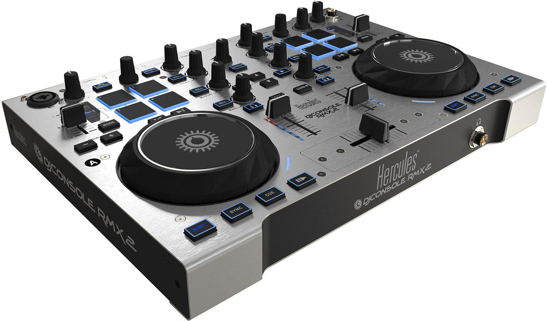 Contrôleur DJ - Hercules  RMX2 - Table de mixage 2 platines avec pads sensitifs