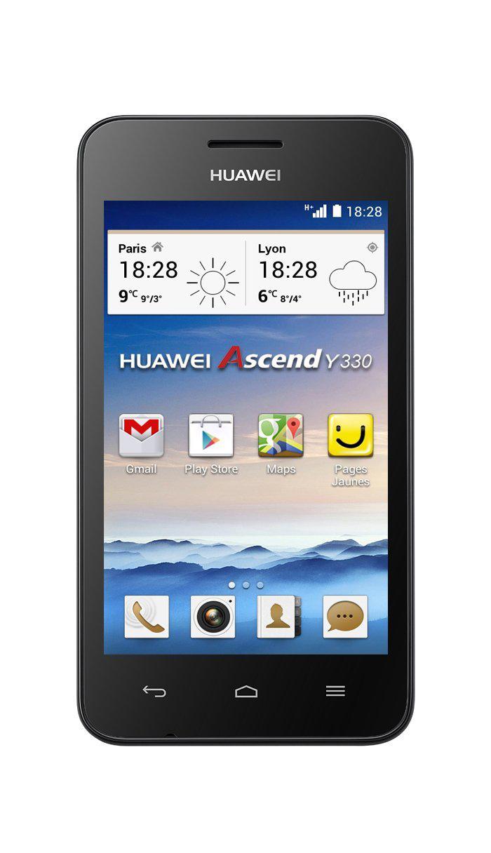 "Smartphone 4"" Huawei Ascend Y330 (avec ODR 20€)"