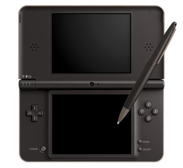 Console Nintendo DSi XL Marron noire