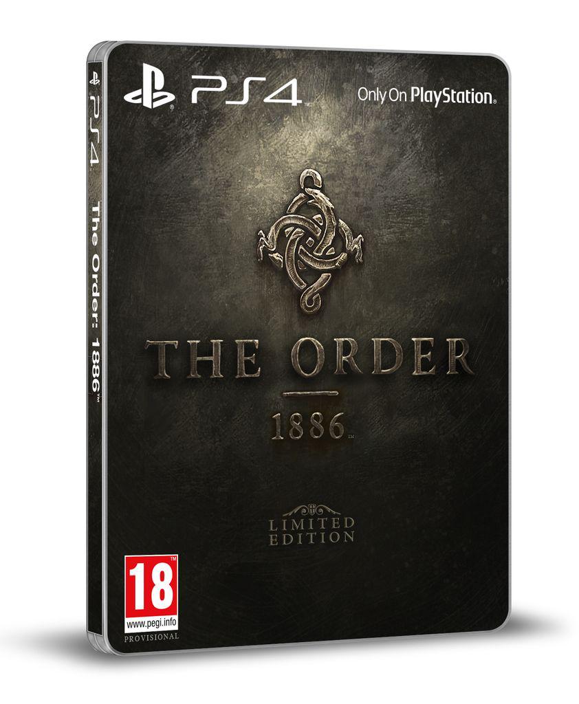 [Précommande] Jeu PS4 The order 1886 - Edition limitée avec Steelbook