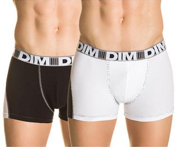 Lot de 2 boxers Dim 3D Flex