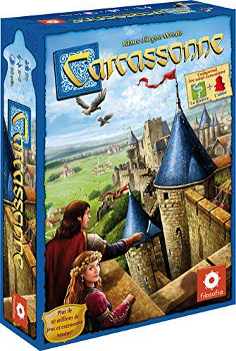 Jeu de société Asmodee Carcassonne - Nouvelle Version