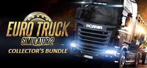 Jeu pc (Dématérialisé) Euro Truck Simulator 2 Collector's Bundle